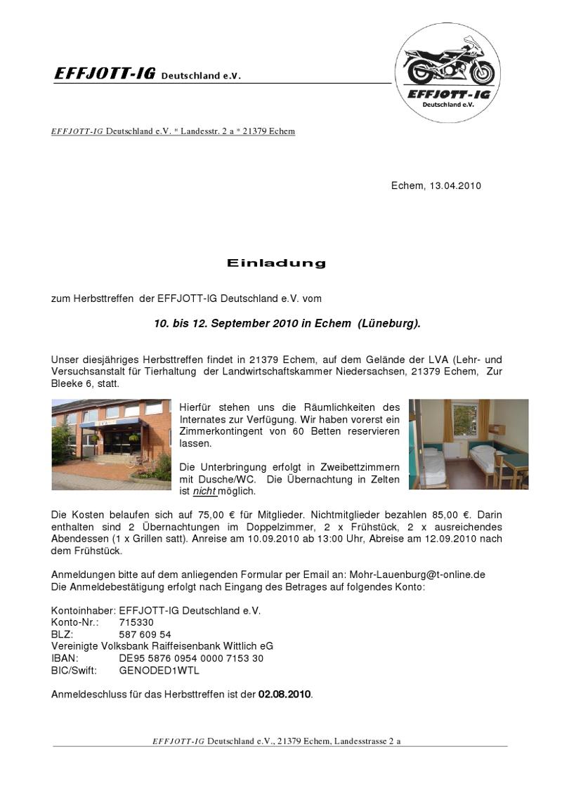 einladung-herbsttreffen-2010, Einladung